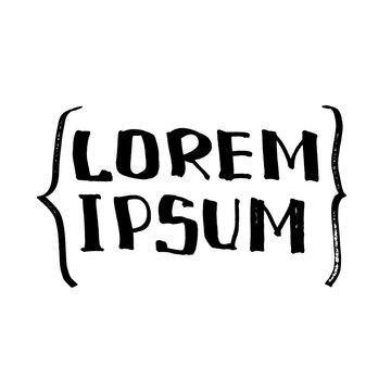 Lorem Ipsum - comic design