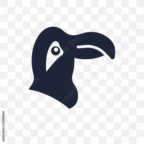 Parrot icon  Parrot symbol design from Animals collection
