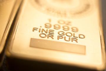 Gold bullion ingot bar