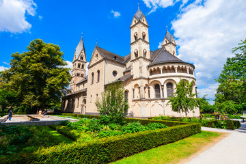 St. Castor Basilica in Koblenz Wall mural