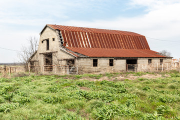 Old homesteads and Barns