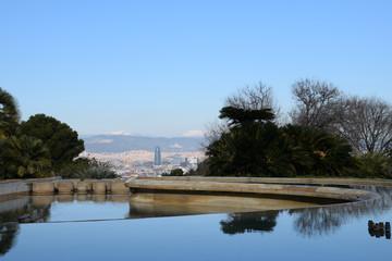 Vista de Barcelona ciudad