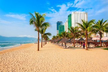 My Khe city beach, Danang