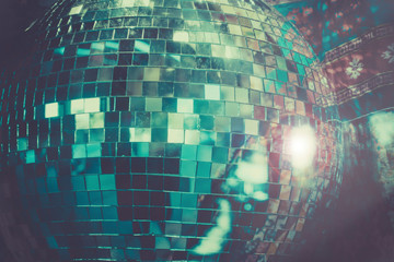 Disco Ball dance party background