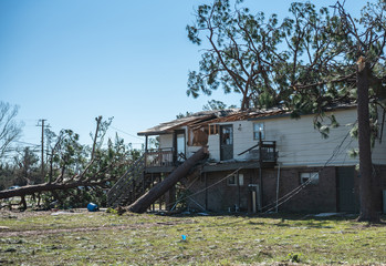 Hurricane Michael Devastation