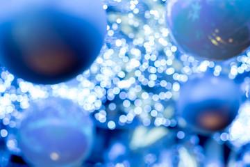 クリスマス素材(背景、玉ボケ、輝度合成用)