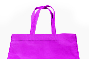 Shopping bag isolate in white background.