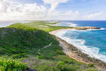Pointe des chateaux, Grande-Terre, Guadeloupe