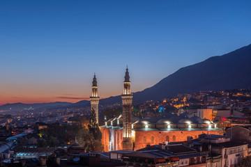 Great Mosque at early morning, Bursa, Turkey