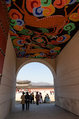 光化門の中 景福宮 ソウル