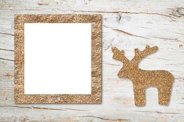 Christmas Nativity photo frame card