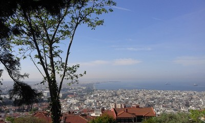 The beutiful city of Thessaloniki in Northern Greece