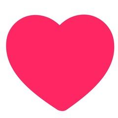 Valentine heart card illustration