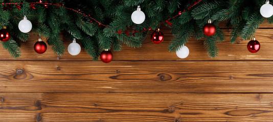 Christmas tree decoration frame