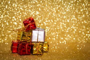 Glitzer, Weihnachtsmann, Weihnachtsmütze, Engel, Geschenk, Sterne, Kerzen