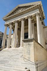 ancien tribunal de Montpellier en Occitanie, France
