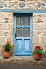 Vecchie porte, Bretagna, Francia