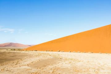 Luftaufnahme, Sanddünen im Sossusvlei Nationalpark