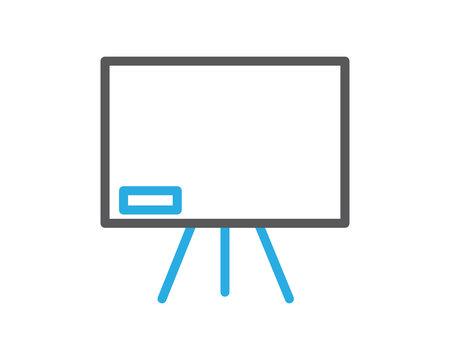 whiteboard blackboard line icon illustration vector,whiteboard blackboard illustration vector,whiteboard blackboard line website icon illustration vector