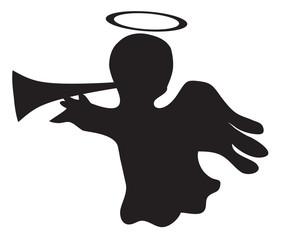 Vector Illustration of Angel
