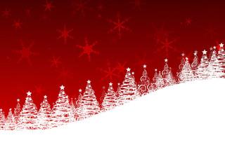 Beautiful Red Christmas Wallpaper