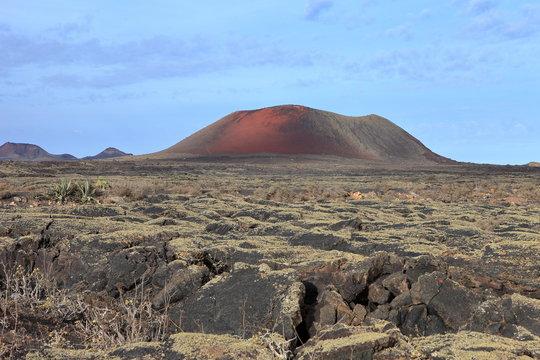 Lanzarote, volcan Montaña Roja
