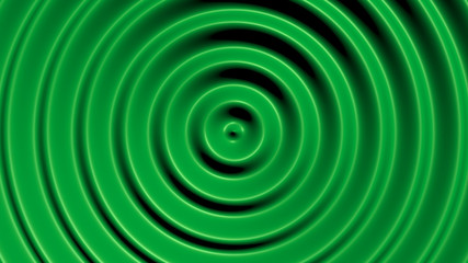 Concentric circles with hypnotic effect, colored water resonance background pattern