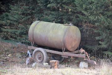 matériel agricole citerne