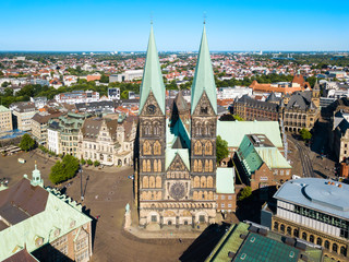 Bremen Cathedral in Bremen, Germany