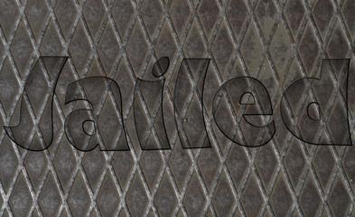 Imprisoned behind a fence