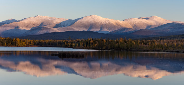 Pond of Cherry at Sunset, White Mountains, NH