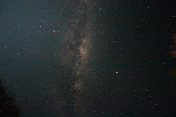Nachthimmel über der Kalahari