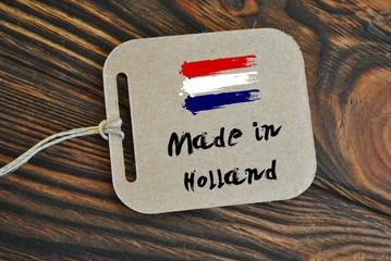 Obraz Made in Holland - fototapety do salonu