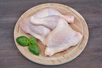 Fototapeta udka z kurczaka surowe obraz