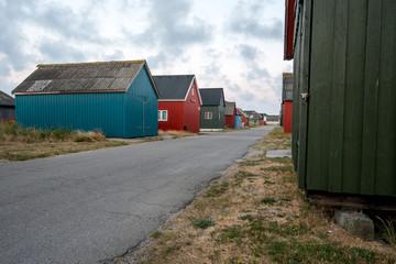 Tyskerhavnen bei Hvide Sande, Dänemark