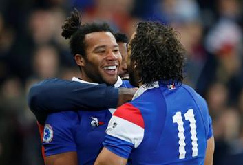 France v Argentina
