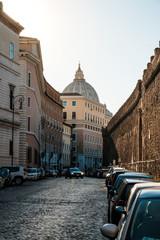 Street Near The Vatican