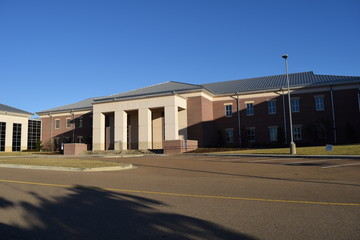 Oxford High School in Oxford Mississippi