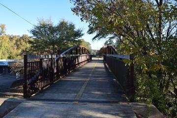 Depot Trail foot/bike bridge in Oxford Mississippi
