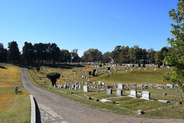 Oxford Memorial Cemetery in Oxford Mississippi