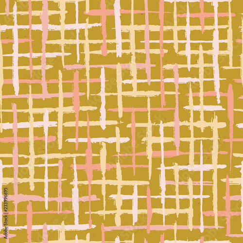 Rustic Texture Grunge Stripes Seamless Vector Pattern Rough