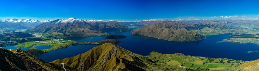 Roys peak summit, one of the best track in New Zealand. close to Wanaka