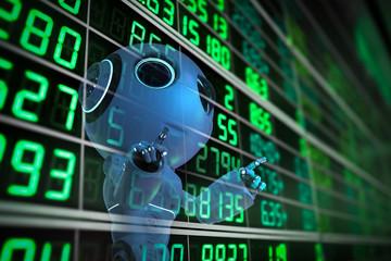 robot analyze stock market