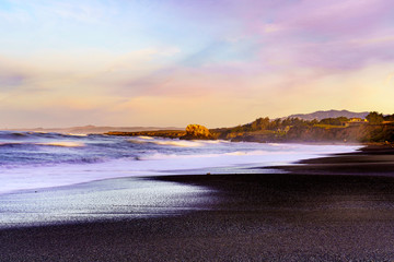 Creamy Sunrise, San Simeon, California