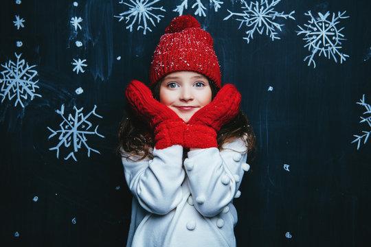 beauty of winter fashion