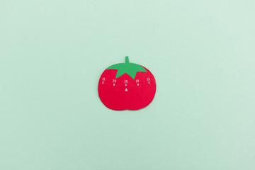 Küchen-Timer Tomate auf 25 Minuten eingestellt