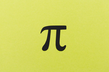 Mathematics pi symbol
