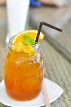lemon tea or mango tea