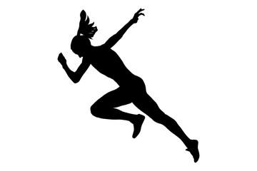 start running faster woman sprinter runner