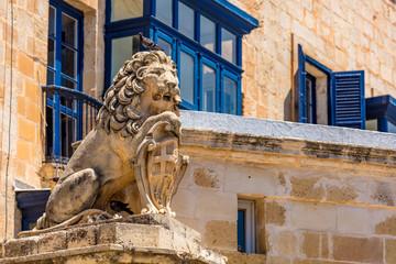 Skulpturen  in Valletta